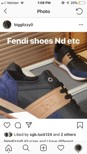 Fendi shoes for Sale in Clarksburg, MD