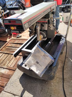 Sears Craftsman brand new less than 1 hour used radial saw for Sale in Elk Grove, CA