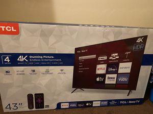 "TCL 43"" Smart Roku Tv for Sale in Detroit, MI"