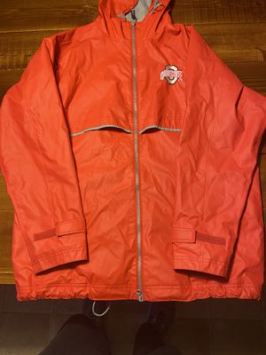 Ohio State Rain Jacket Medium Excellent Condition for Sale in New Albany, OH
