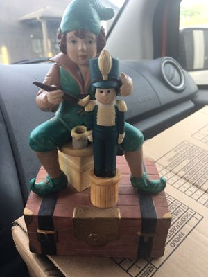 Vintage Enesco Elf music box... for Sale in Durham, NC