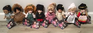 NEW WITH TAGS LOT OF 8 CHILDREN OF THE WORLD, BY PRECIOUS MOMENTS for Sale in Columbus, OH