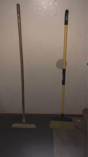 2 heavy duty brooms for Sale in San Diego, CA