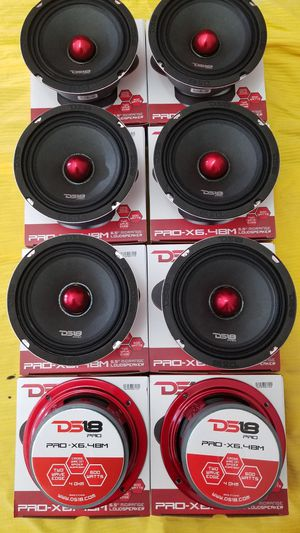 Ds18 Mid Pro audio Loud speakers 600 watts !! $30 Each (1) BRAND NEW /Bosinas ds18 para la voz $30 Cada una (1) for Sale in Houston, TX