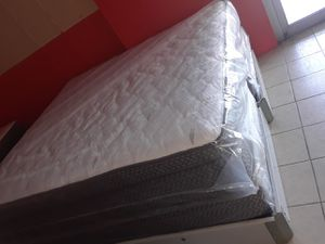 Pillow top king size set $288.88 mattress and box spring only for Sale in New Port Richey, FL