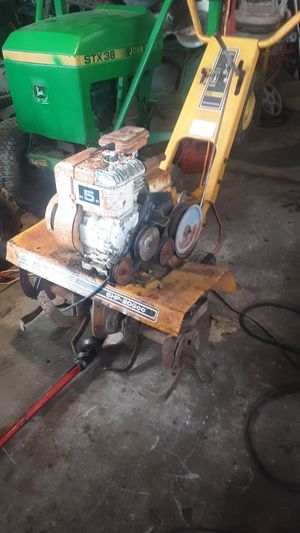 Sears craftsman 5hp tiller for Sale in Bristow, OK