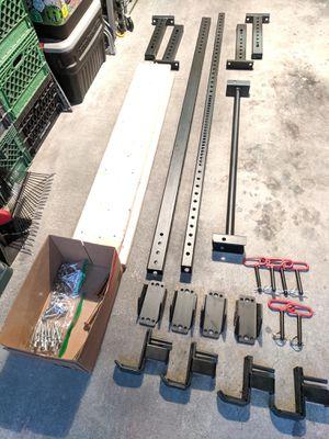 Titan Wall Mounted Folding Squat Rack for Sale in Tacoma, WA