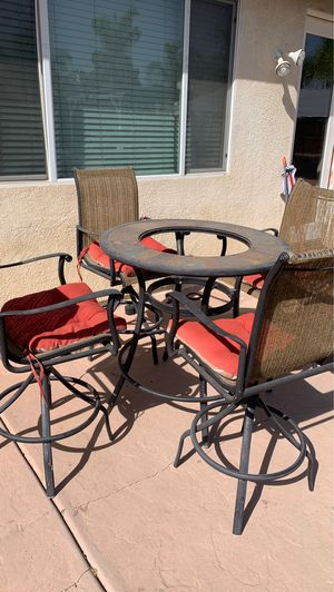 Outdoor patio furniture table chair for Sale in Moreno Valley, CA