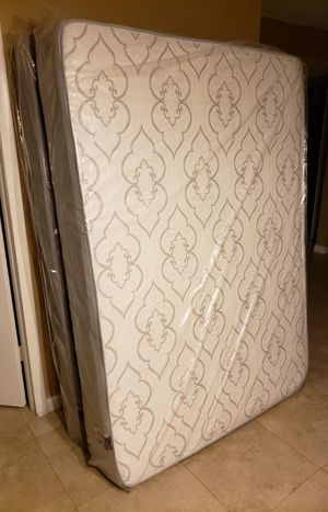 New FULL size mattress, & BOX spring. Bed frame not included on offer for Sale in West Palm Beach, FL