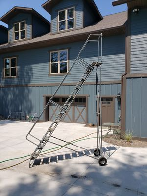 Warehouse ladder for Sale in Holland, MI
