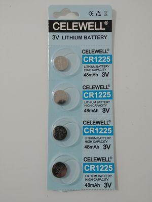 CR1225 3v battery 4 pack for Sale in Fairfax, VA