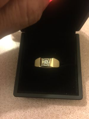 Men White and yellow gold ring for Sale in Garden Grove, CA