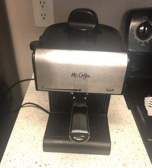 Mr Coffee Espresso and Cappuccino Maker for Sale in Austin, TX