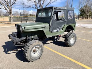 1946 Jeep Rock Crawler for Sale in Longmont, CO