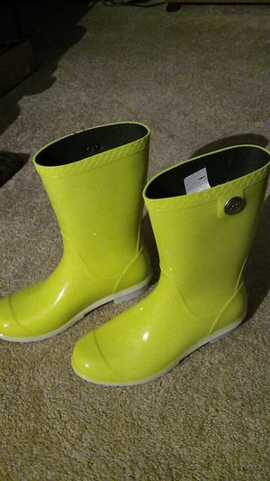 Ugg rain boots for Sale in Allison Park, PA