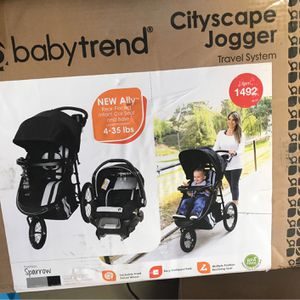 Baby Trend CityScape Jogger Travel System - Sparrow for Sale in Las Vegas, NV