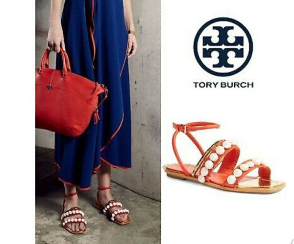NEW Tory Burch Sinclair Seashell Size 6