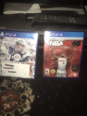 Madden 17 and NBA 14 for Sale in St. Louis, MO