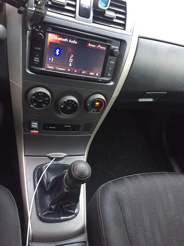 2013 Toyota Corolla S. 5 speed manual