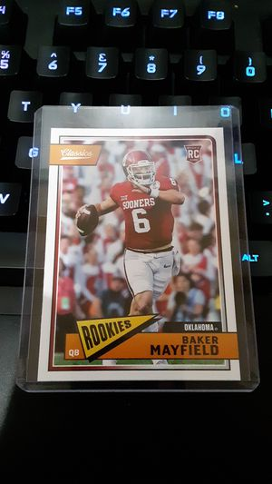 Baker mayfield's rookie card panini classics for Sale in Young, AZ