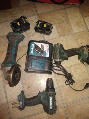 Makita power tool set for Sale in Placentia, CA
