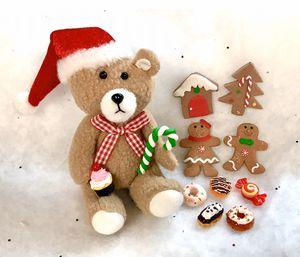 American Girl Miniature Christmas Bear & Food Set for Sale in San Diego, CA
