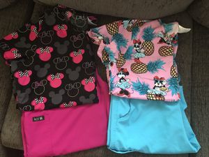 Disney Scrub Sets size large for Sale in Tampa, FL