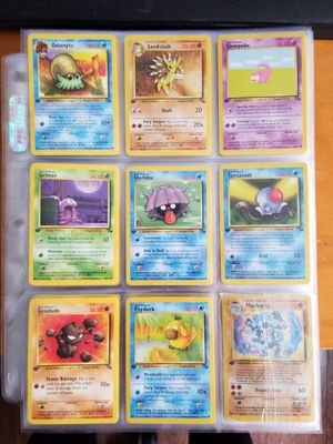 Vintage Pokemon Collection for Sale in Tacoma, WA