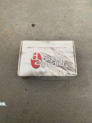 Digital audio dac6.5 6.5 balanced component speaker set for Sale in Escondido, CA