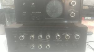 Sansui solid-state stereophonic amplifier Au -7 7A with sansui solid state stereophonic tuner for Sale in Philadelphia, PA