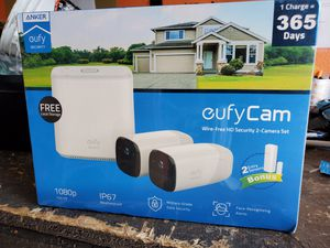 Anker eufyCam Wire-Free HD Security 2-Camera Set for Sale in Fontana, CA