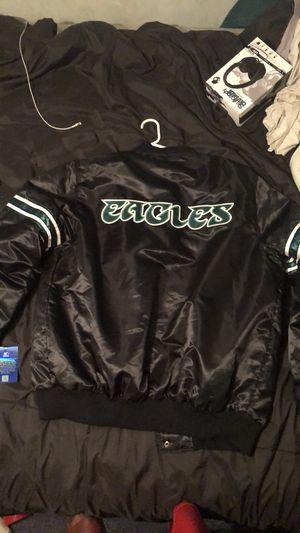 3be450fd Starter eagles jacket for Sale, used