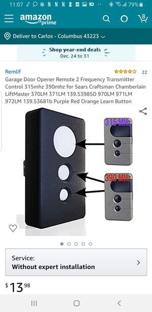 Garage door remote for Sale in Columbus, OH