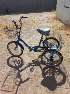 3 wheeler bike with basket smaller nice for Sale in Scottsdale, AZ