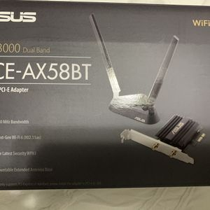 Asus WiFi-6 PCI-e Adapter for Sale in Humble, TX