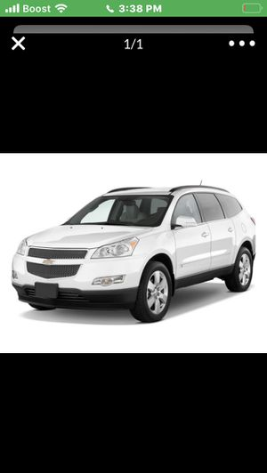2009 Chevy traverse and 1984 Pontic bonnville for Sale in Struthers, OH