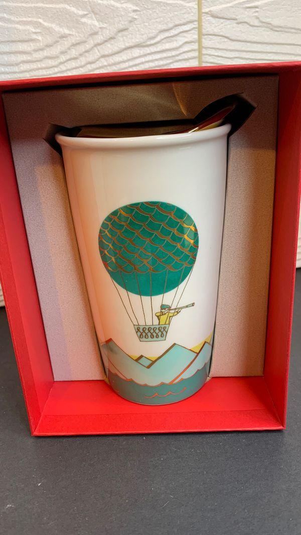 Starbucks hot air ballon tumbler