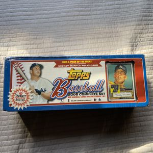 Topps Baseball 2006 Complete Set Series 1 & 2 - Mickey Mantle | $70 OBO for Sale in Moreno Valley, CA