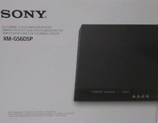SONY XM-GS6DSP 6/5 Channel Class D Amplifier with Bluetooth for Sale in Dallas,  TX