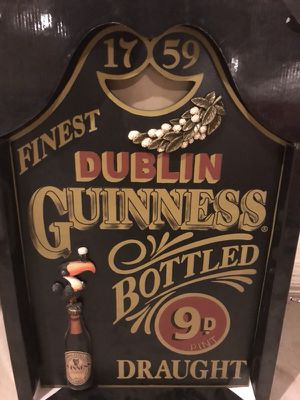 Guinness bar sign for Sale in Millersville, MD