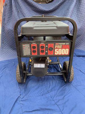 Generator 5000 running watts for Sale in Margate, FL