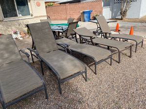 5 lounge chairs for Sale in Tempe, AZ