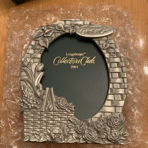 Longaberger Collectors Club 2001 Renewal Gift Picture Frame for Sale in Hayward, CA