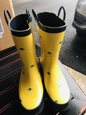 Janie and Jack rain boots big kids size 2 for Sale in Gurnee, IL