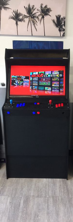 ARCADE 🕹FULL SIZE CABINET W/ 15,000 GAMES 🕹 32 INCH TV 📺 for Sale in Chino Hills, CA