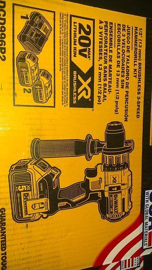 "DeWalt 1/2"" Brushless 3-Speed Hammer drill Kit for Sale in Taylors, SC"