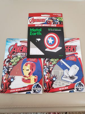 Metal Earth Marvel kits (Set of 3) for Sale in Huntington Beach, CA