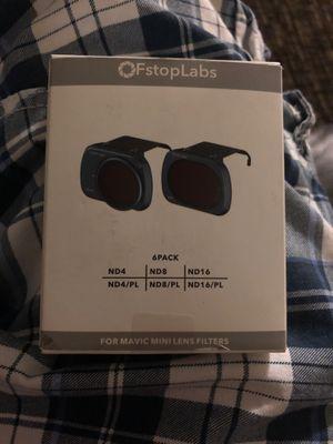 Lens Filters for DJI Mavic Mini Camera Lens Set, (6 Pack) for Sale in Sacramento, CA