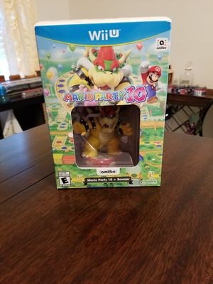 Bowser Amiibo in Mario Party 10 box Nintendo Wii U Switch for Sale in Cocoa, FL