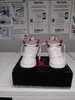 Fire red 5s Szie 8 DELIVERED!!!Buy 1 Get 1 50% Off for Sale in Springfield, MA